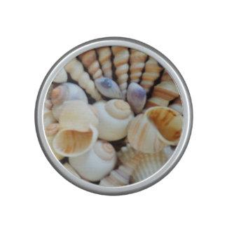 Seashells Bumpster Speaker, Summer Beach Speaker