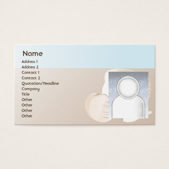 Seashells - Business Business Card