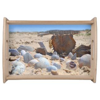 'Seashells By The Seashore' Serving Tray