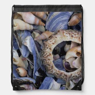 Seashells, Cape Town, Western Cape Drawstring Bag