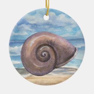 Seashells Christmas Ornament