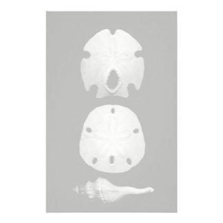 Seashells Customized Stationery