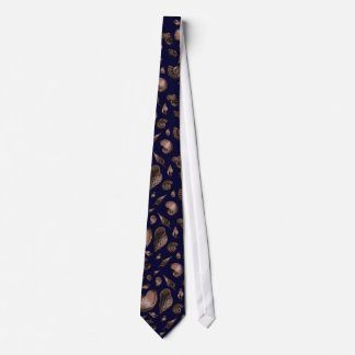 Seashells Deep Blue Tie