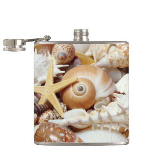 Seashells Flask