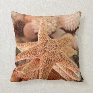 Seashells for sale Zihuatanejo, Mexico Cushion