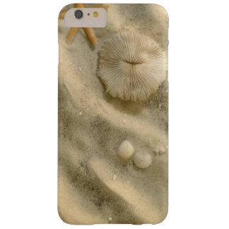 Seashells In Sand Barely There iPhone 6 Plus Case