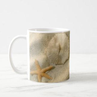 Seashells In Sand Coffee Mug