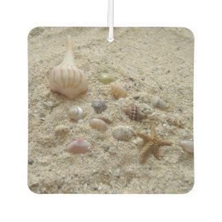 Seashells In The Sand Car Air Freshener