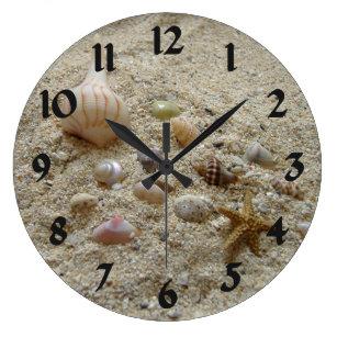 Shell Wall Clocks Zazzle Uk