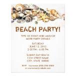 Seashells Invitation