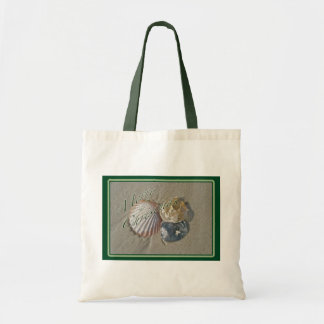 Seashells Merry Christmas Series Tote Bag