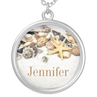 Seashells Name Necklace