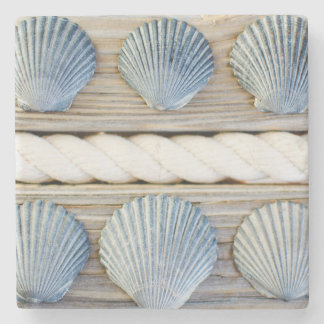 Seashells | New York City Stone Beverage Coaster