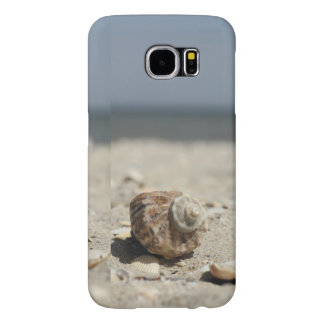 Seashells On Sand By The Sea Samsung Galaxy S6 Cases