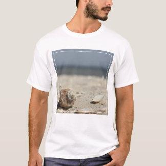 Seashells On Sand By The Sea T-Shirt