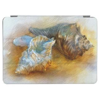 Seashells on the beach iPad air cover