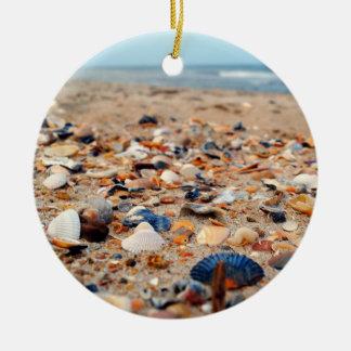 Seashells on the Beach Ornament