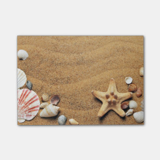 Seashells On The Beach Post-it® Notes