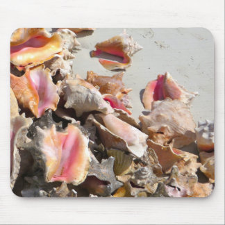 Seashells on the Beach | Turks and Caicos Photo Mouse Pad