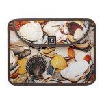 Seashells Pattern Sleeves For MacBooks