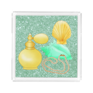 Seashells & Perfume Soft Yellow & Green