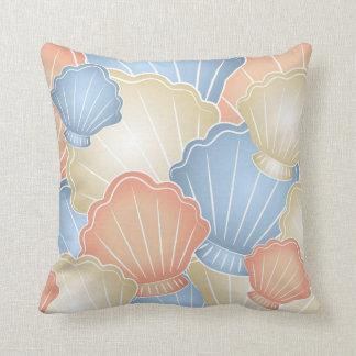 Seashells pillow cushion