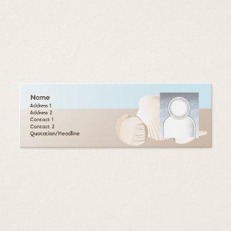 Seashells - Skinny Mini Business Card