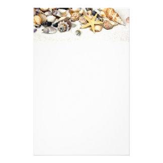 Seashells Stationery