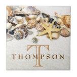 Seashells Tile Personalised