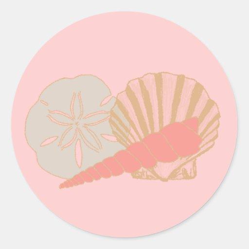 Seashells Trio Sticker