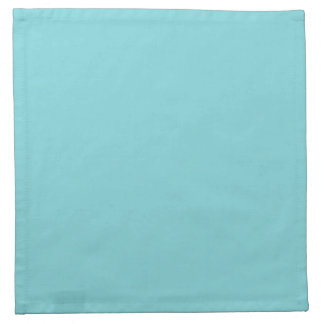 Seashore Blue Personalized Aqua Teal Background Napkin
