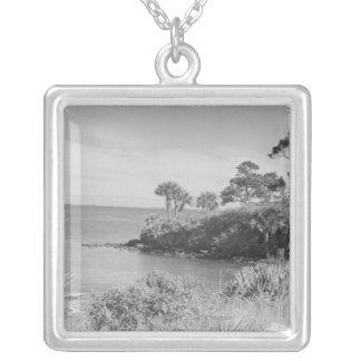 Seashore Silver Plated Necklace