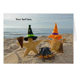 Seashore  Starfish Invite Greeting Card