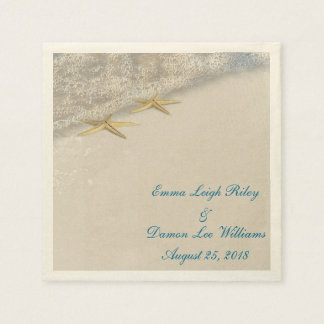 Seashore Stars Disposable Napkins