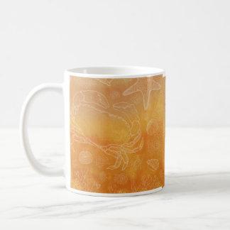 Seashore study basic white mug