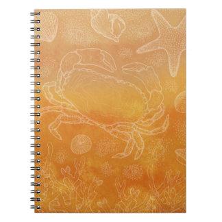 Seashore study notebook