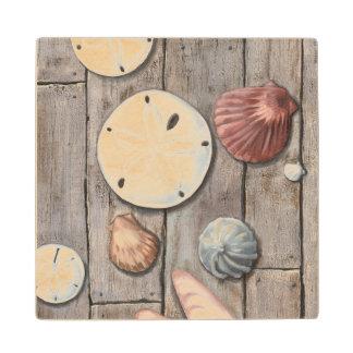 Seashore Treasures Wood Coaster