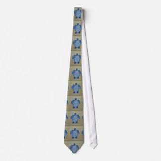 Seashore Turtle Tie