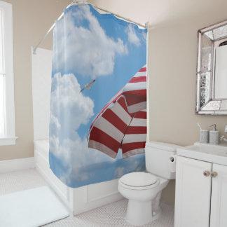 seaside 2 shower curtain