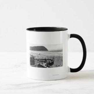 Seaside Beach and Promenade Photograph Mug