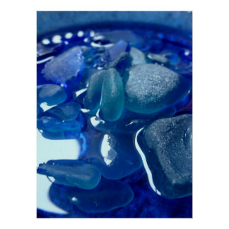 Seaside Blue Print