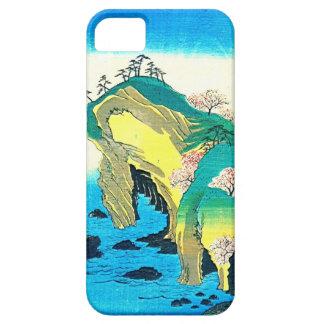 Seaside Caves Japan 1853 iPhone 5 Covers