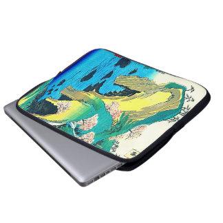 Seaside Caves Japan 1853 Laptop Sleeves