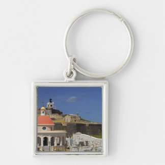 Seaside cemetery of Puerto Rico Key Ring