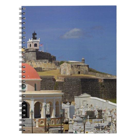 Seaside cemetery of Puerto Rico Notebook