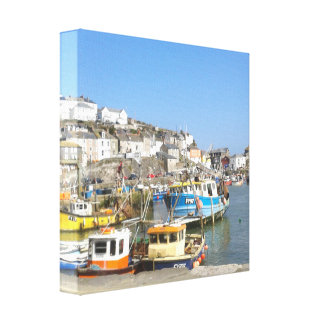 seaside collection canvas wrap