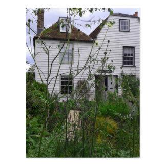 Seaside Cottage Postcard