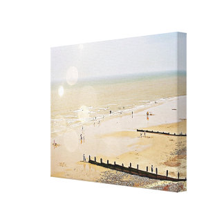Seaside Fun.A Canvas Print