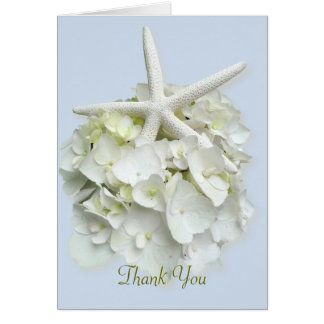 Seaside Garden Custom Thank You Note Cards