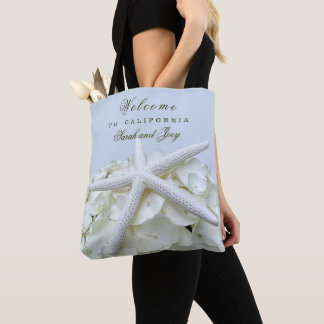 Seaside Garden Starfish Beach Wedding Welcome Bags